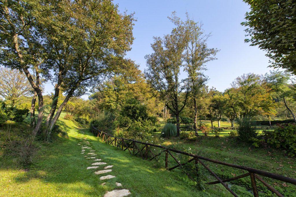 Parco naturale e terme Roma
