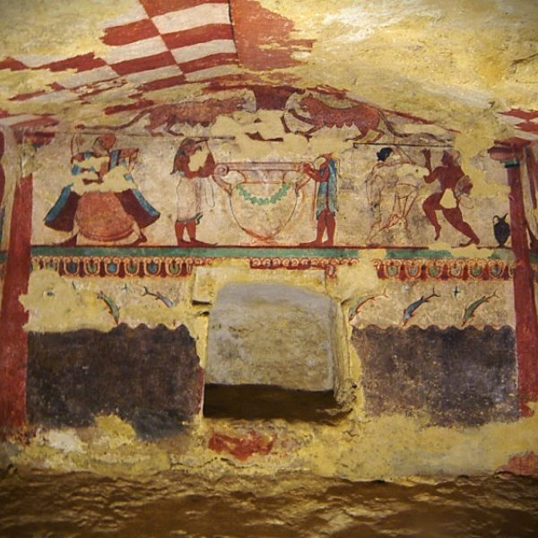 La Necropoli Di Tarquinia Un Gioiello Della Tuscia Tutelato Dall Unesco