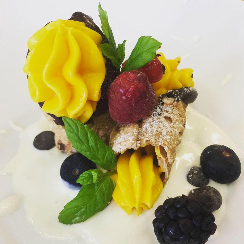 I piatti di Sous chef Maria Cristina Fusco